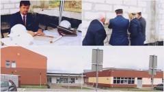 Powstaje sala gimnastyczna Szkoły Podstawowej Nr 3 w Malborku. Wmurowano akt erekcyjny na placu budowy - 05.09.2017