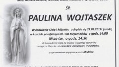 Zmarła Paulina Wojtaszek. Żyła 104 lat