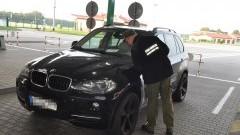 Poszukiwane w Rumunii BMW warte 75 tys zatrzymane na granicy w Grzechotkach - 26.09.2017