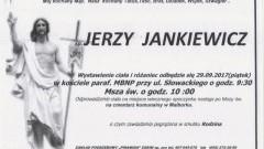 Zmarł Jerzy Jankiewicz. Żył 64 lat.