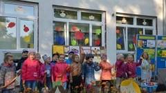 """Festyn rodzinny """"Witaminki dla rodzinki"""" w Przedszkolu nr 5 im. Dzieci z Zamkowego Wzgórza w Malborku - 29.09.2017"""