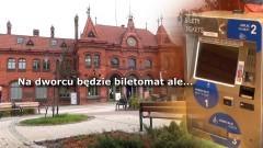 Trwa montaż biletomatu na dworcu w Malborku. Wszyscy się cieszą, ale nie wszyscy kupią bilet – 04.10.2017