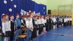 Pasowanie pierwszoklasistów w Szkole Podstawowej w Starym Polu - 12.10.2017