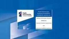 Fundusze Europejskie dla osób chcących rozpocząć działalność gospodarczą i podnieść kwalifikacje zawodowe - 18.10.2017