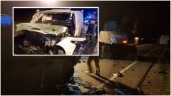 Malbork: Wypadek w Gnojewie. Auto wjechało w koparkę. Mężczyznę do szpitala zabrano śmigłowcem LPR - 18.10.2017