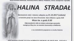 Zmarła Halina Stradał. Żyła 91 lat