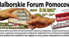 Zapraszamy na kolejne spotkanie w ramach Malborskiego Forum Pomocowego - 03.11.2017