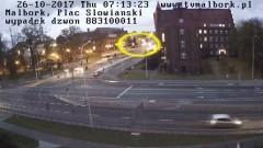 Malbork: Potrącenie 51-latka nad ranem. Kierowca nie zauważył pieszego... - 26.10.2017
