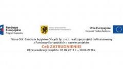 Cel: Zatrudnienie! Projekt dla osób bezrobotnych z powiatów woj. pomorskiego - 27.10.2017