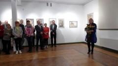 """Wernisaż """"Migawki"""" Ewy Łukiewskiej w Nova Galeria w Malborku - 08.11.2017"""