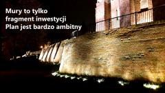 Nowa iluminacja i plany na kolejne inwestycje przy bulwarze w Malborku – 09.11.2017