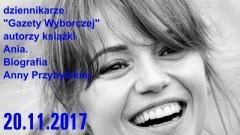 Sztum: Spotkanie z autorami książki o Annie Przybylskiej – 20.11.2017