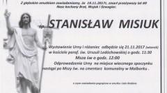 Zmarł Stanisław Misuk. Żył 69 lat