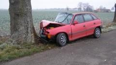 Kierowca astry trafił do szpitala po wypadku w Pordenowie – 21.11.2017