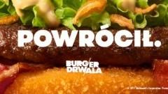 Długo wyczekiwany Burger Drwala powraca do McDonald's!