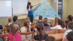 Piramida Zdrowego Wyboru w Szkole Podstawowej nr 3 w Malborku - 20.11.2017