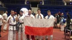 Najlepszy występ zawodników z Malborka w historii. 16 Mistrzostwa Europy Open Karate o Puchar Europy Juniorów Kyokushin Karate w Bukareszcie - 25-26.11.2017