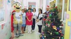 Burmistrz Miasta Malborka odwiedził pacjentów oddziału dziecięcego - 06.12.2017