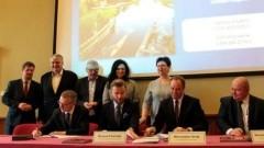 """Malbork uczestniczy w partnerskim projekcie """"Pomorskie Szlaki Kajakowe - Kajakiem przez Żuławy"""" - 11.12.2017"""