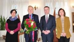 """Medal """"Gloria Artis"""" dla dyrektora Muzeum Zamkowego w Malborku - 11.12.2017"""