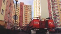 Ewakuowano mieszkańców wieżowca. Pożar na Jasnej w Malborku - 13.12.2017