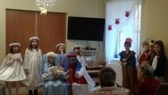 Jasełka uczniów Szkoły Podstawowej nr 3 w Domu Pomocy Społecznej w Malborku - 19.12.2017