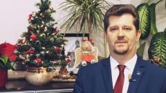 Marek Charzewski, Burmistrza Miasta Malborka składa życzenia świąteczno - noworoczne - 22.12.2017