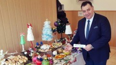 Marek Szczypior, Wójt Gminy Stare Pole składa życzenia świąteczno-noworoczne - 22.12.2017
