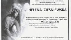 Zmarła Helena Cieśniewska. Żyła 88 lat