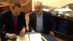 Porozumienie II LO w Malborku z Okręgową Izbą Radców Prawnych w Gdańsku - 20.12.2017