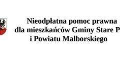 Nieodpłatna pomoc prawna dla mieszkańców Gminy Stare Pole oraz powiatu malborskiego - 03.01.2018