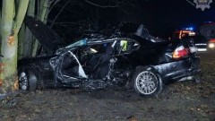 Kierowca BMW stracił panowanie nad autem... - 02.01.2018