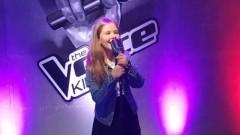 """Julka Jasińska z Malborka w programie muzycznym """"The Voice Kids"""" - 10.01.2018"""