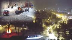 Wielkie odśnieżanie rozpoczęte. Akcja Zima na malborskich ulicach - 17.01.2018