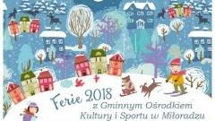 Ferie Zimowe z Gminnym Ośrodkiem Kultury i Sportu w Miłoradzu - 23.01.2018