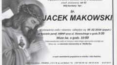 Zmarł Jacek Makowski. Żył 52 lat.