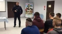 Promocja zawodu policjanta wśród malborskiej młodzieży - 19.02.2018