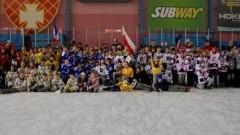 Malborski UKS Bombek SP 3 wystąpił na międzynarodowym turnieju hokeja na lodzie w Elblągu - 26.02.2018