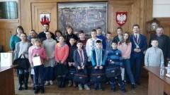 Delegacja dzieci i młodzieży z Ukrainy z wizytą w Malborku - 02-03.03.2018