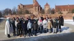Dzieci z Ukrainy z wizytą w SP nr 8 w Malborku - 02-03.03.2018