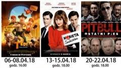 """Repertuar sztumskiego kina """"Powiśle"""" (DKF) w kwietniu"""