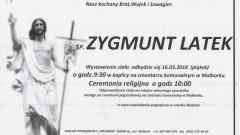 Zmarł Zygmunt Latek. Żył 58 lat