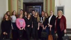 Wyjazd klasy 1 A z malborskiego II LO do Sądu Okręgowego w Gdańsku