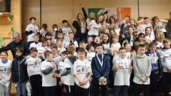 Partnerska wymiana malborskich Balbin z chórem chłopięcym w Irlandii