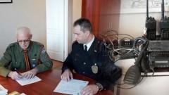 Radiotelefony dla Związku Harcerstwa Polskiego od malborskiej Straży Miejskiej