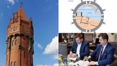 W wieży ciśnień powstanie m.in. kawiarnia i punkt widokowy. Zobacz projekt!