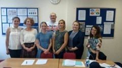 Nauczyciele z malborskiej Szkoły Podstawowej nr 5 szkolili umiejętności językowe za granicą