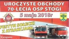 Gmina Malbork : Zapraszamy na uroczyste obchody 70-lecia OSP Stogi