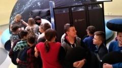 Odwiedziny w kosmosie - Planetobus w malborskiej Szkole Podstawowej nr 3