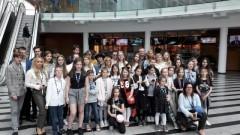 Muzyczno-telewizyjny wyjazd malborskich Balbin i uczniów I LO do Warszawy